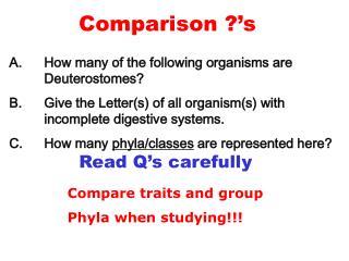 Comparison  s