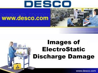 Images of  ElectroStatic Discharge Damage
