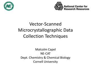 Vector-Scanned Microcrystallographic Data Collection Techniques