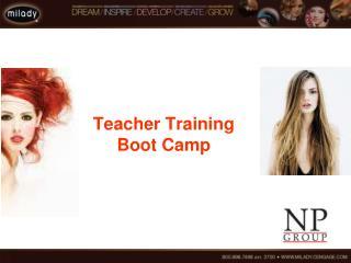 Teacher Training Boot Camp