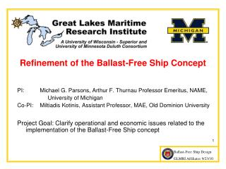 Refinement of the Ballast-Free Ship Concept