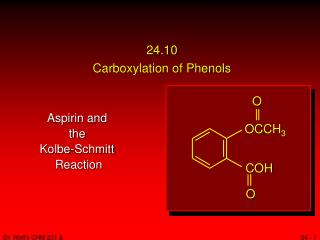 24.10 Carboxylation of Phenols