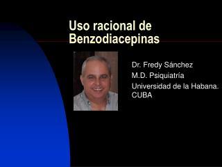 Uso racional de Benzodiacepinas