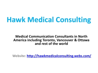 Healthcare, strategy & planning consultants
