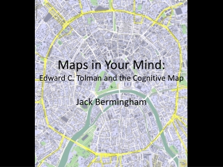 Maps in Your mind