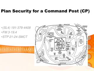 Plan Security for a Command Post CP