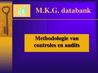 M.K.G. databank