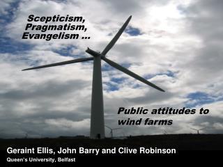 Scepticism, Pragmatism, Evangelism