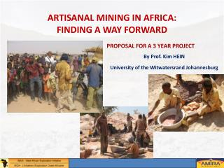 ARTISANAL MINING IN AFRICA: FINDING A WAY FORWARD