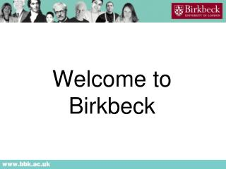 Welcome to  Birkbeck