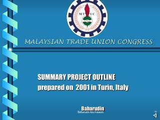 MALAYSIAN TRADE UNION CONGRESS