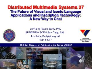 Distributed Multimedia Systems 07  The Future of Visual and Iconic Language Applications and Inscription Technology:  A