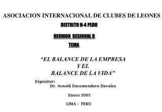 ASOCIACION INTERNACIONAL DE CLUBES DE LEONES