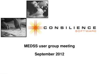 MEDSS user group meeting September 2012