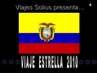 Viajes Solius presenta