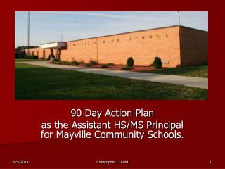 90 Day Action Plan as the Assistant HS