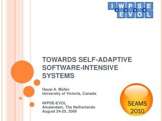 TOWARDS SELF-ADAPTIVE SOFTWARE-INTENSIVE SYSTEMS