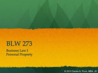 BLW 273