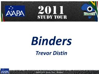 Binders Trevor Distin