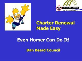 Even Homer Can Do It   Dan Beard Council