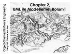 Chapter 2, UML ile Modelleme, B l m 1