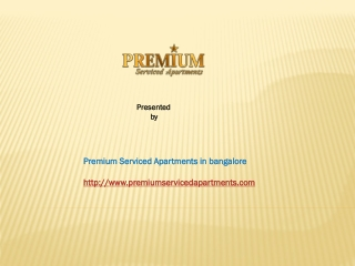 Service Apartment Bangalore
