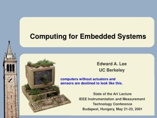 Computing for Embedded Systems