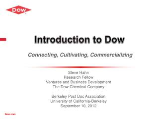 Introduction to Dow