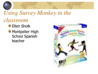 Using Survey Monkey in the classroom