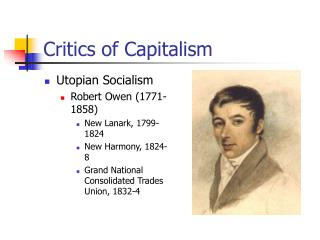 Critics of Capitalism