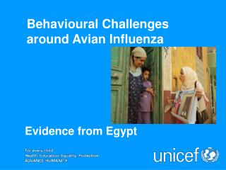 Behavioural Challenges around Avian Influenza