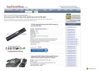 Akku HP ProBook 4340s,Akku ProBook 4340s