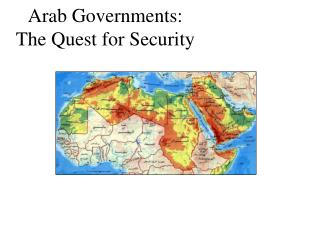 Arab Governments:
