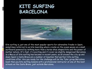 Kitesurfing Barcelona