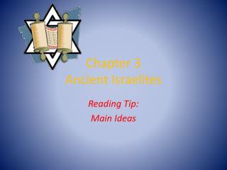 Chapter 3 Ancient Israelites