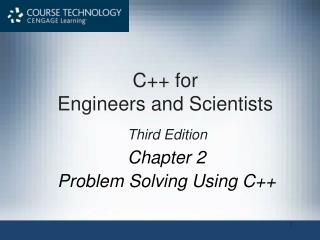 Chapter 2 Problem Solving Using C