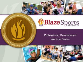 Professional Development Webinar Series