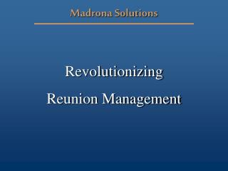 Madrona Solutions