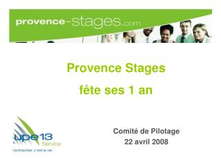 Provence Stages  f te ses 1 an