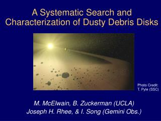A Systematic Search and  Characterization of Dusty Debris Disks