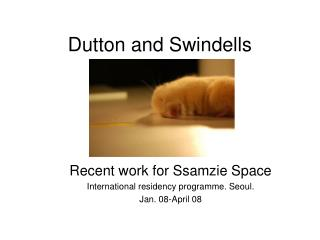 Dutton and Swindells
