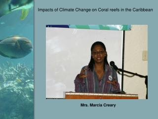 Impacts of Climate Change on Coral reefs in the Caribbean