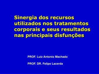 Sinergia dos recursos utilizados nos tratamentos corporais e seus resultados nas principais disfun  es