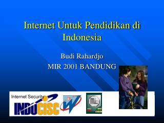 Internet Untuk Pendidikan di Indonesia