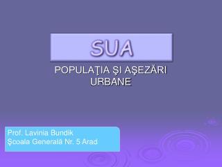 POPULATIA SI ASEZARI URBANE