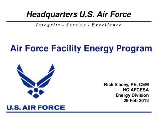 Air Force Facility Energy Program
