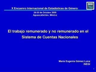 28-30 de Octubre 2009  Aguascalientes. M xico