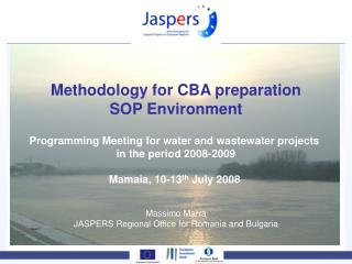 Methodology for CBA preparation SOP Environment