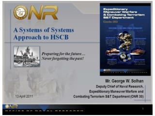 A Systems Approach to HSCB