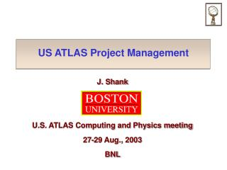 US ATLAS Project Management